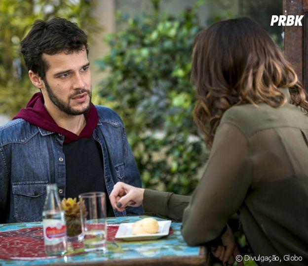 """Novela """"Haja Coração"""": Giovanni (Jayme Matarazzo) terminou com Camila (Agatha Moreira) por causa de Bruna (Fernanda Vasconcellos)"""