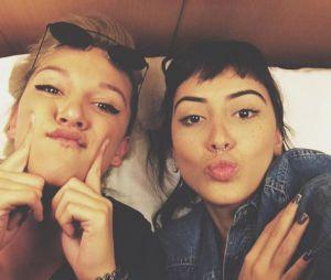 Maju Trindade e Priscilla Alcantara são as melhores amigas do mundo!