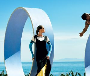 Gigi Hadid e o atleta Ashton Eaton fazem ensaio inspirado nas Olimpíadas para a Vogue americana