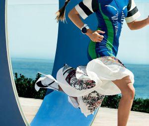 Gigi Hadid mostra sua desenvoltura nos esportes em fotos para a Vogue americana