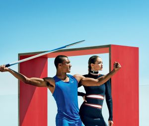 Gigi Hadid e Ashton Eaton dividem os holofotes na revista Vogue