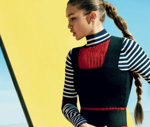 Posar para a Vogue americana era um sonho de Gigi Hadid