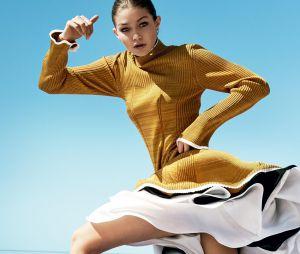 Ensaio de Gigi Hadid e para a capa da Vogue americana é inspirado nos esportes