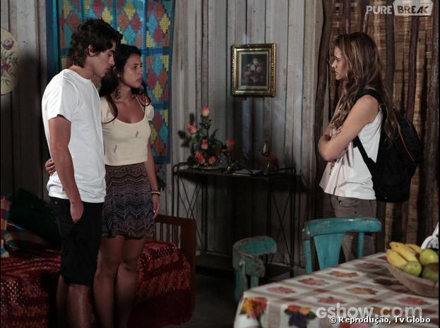 """Lili (Juliana Paiva) descobre mais maldades de seu pai, em """"Além do Horizonte"""""""