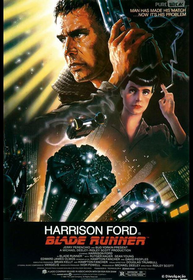 """Filme """"Blade Runner"""" pode ganhar sequência com a participação de Harrison Ford"""