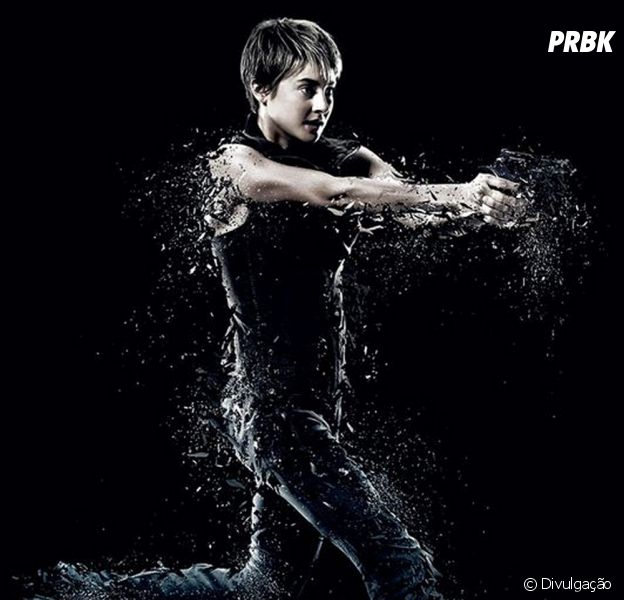 """Shailene Woodley interpreta a mocinha Tris na saga """"Divergente"""""""