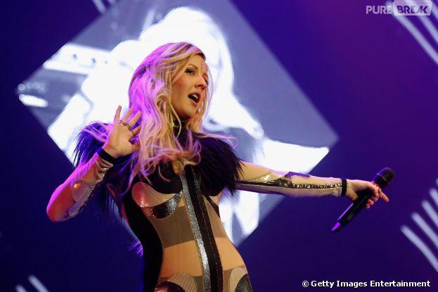 Ellie Goulding promete levantar o público do Lollapalooza
