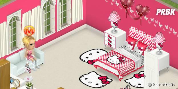 """Alguns instens especiais como esses da """"Hello Kitty"""" estão presentes em """"Minimundos"""" para você decorar sua casa."""