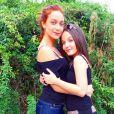 """Larissa Manoela e Maria Pinna, de """"Cúmplices de Um Resgate"""", vivem se declarando nas redes sociais"""