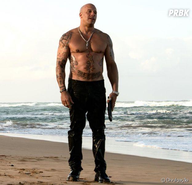 """Vin Diesel é o protagonista de """"xXx: Reativado"""", com Nina Dobrev"""