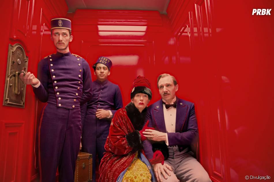 """""""The Grand Budapest Hotel"""" aparece em quinto no ranking das maiores bilheterias do Estados Unidos do fim de semana"""