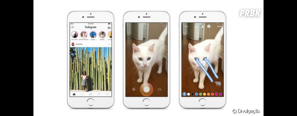 Agora no Instagram será possível colocar vários efeitos em suas fotos