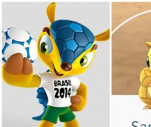 O Fuleco é o pokemón Sandshrew do Brasil