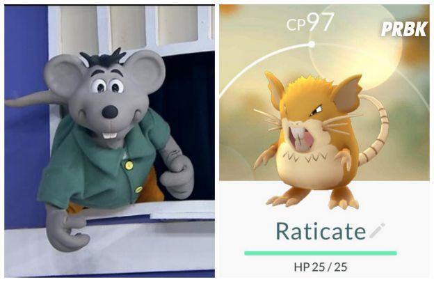 Nosso ratinho Xaropinho pode ser o pokemón Raticate