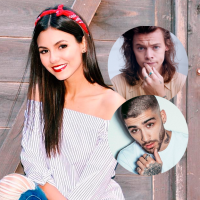 Victoria Justice imita Zayn Malik e Harry Styles, do One Direction, em vídeos hilários no Snapchat!