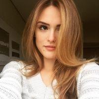 """Isabelle Drummond, de """"A Lei do Amor"""", se despede das gravações da novela em foto no Instagram"""