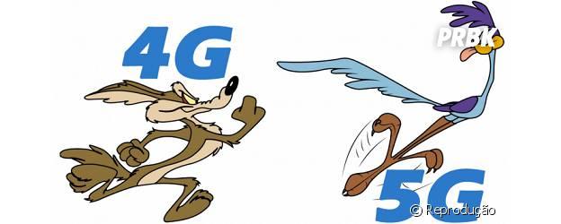 Internet 5G promete ser 100 vezes mais rápida que 4G.