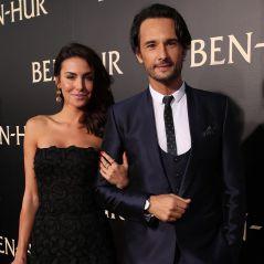 """Rodrigo Santoro e Mel Fronckowiak brilham em pré-estreia de """"Ben-Hur"""" em Los Angeles"""