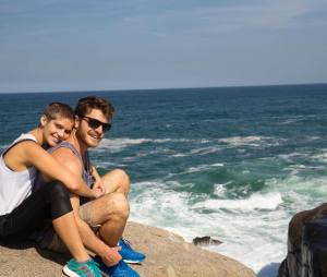 """Isabella Santoni diz que namorado Lucas Wakim aprovou seu visual para """"A Lei do Amor"""""""