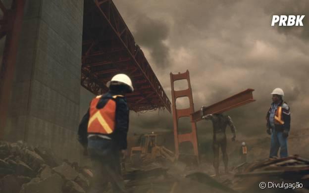 """Em """"X-Men: Dias de um Futuro Esquecido"""": Sentinelas participam da reconstrução da ponte Golden Gate"""