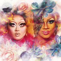 """Kim Chi e Chi Chi DeVayne, de """"RuPaul's Drag Race"""", chegam ao Brasil para arrasar na festa Priscilla"""