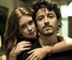 """Em """"Justiça"""", Isabela (Marina Ruy Barbosa) tirou filho de Vicente (Jesuíta Barbosa) contra a vontade do noivo"""