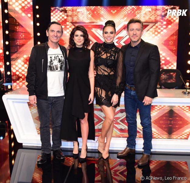 """O """"The X Factor Brasil"""" é apresentado por Fernanda Paes Leme e tem Rick Bonadio, Alinne Rosa, Paulo Miklos e Di Ferreiro como jurados"""