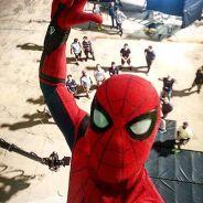 """Novo """"Homem-Aranha"""": Tom Holland, o Peter Parker, ganha elogios de Chadwick Boseman, o Pantera Negra"""