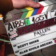 """Filme """"Fallen"""": gravações já rolaram, e prova disso são fotos de backstage, apesar de tanto mistério em torno"""