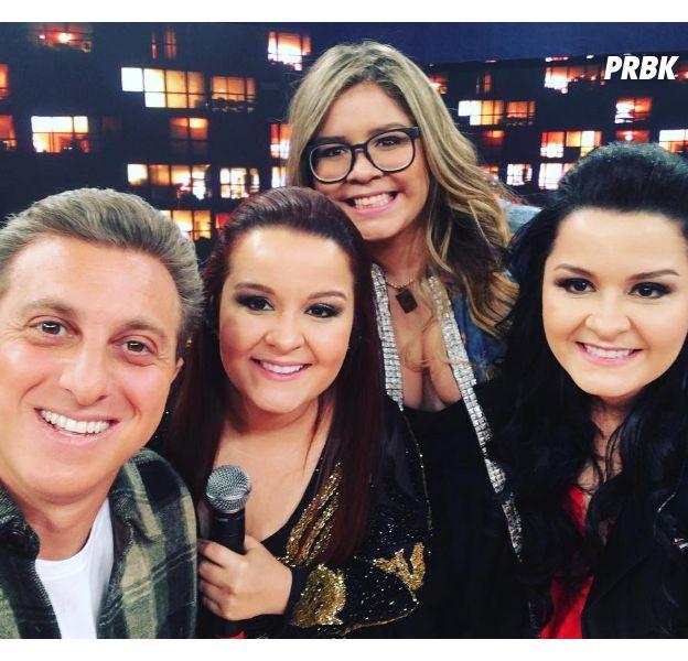"""Marília Mendonça e Maiara & Maraisa cantam e emocionam fãs no """"Caldeirão do Huck"""""""