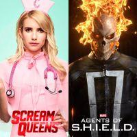 """Série """"Scream Queens"""" ou """"Agents of SHIELD"""": qual teve o melhor retorno de temporada?"""