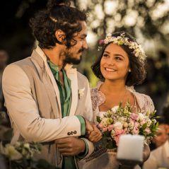 """Final """"Velho Chico"""": Miguel (Gabriel Leone) e Olívia são surpreendidos durante casamento"""