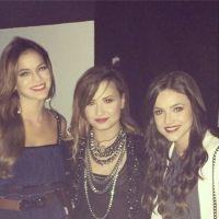 Demi Lovato faz show no Rio e Bruna Marquezine e Manu Gavassi tietam a gata!