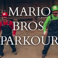 """Como seria jogar """"Super Mario"""" na vida real! Peraí, com acrobacias e tudo?!"""