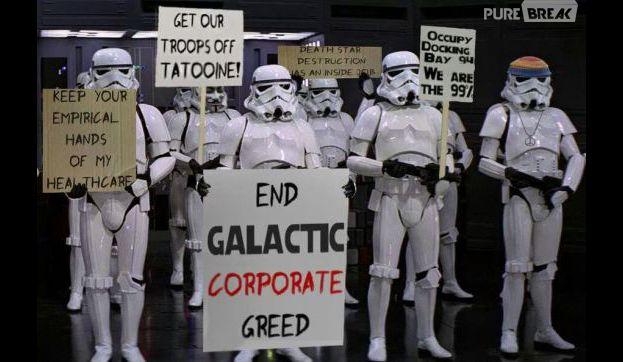 Stormtrooper também é gente! #vemprarua