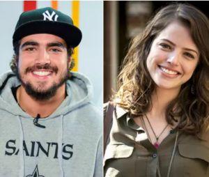 """Caio Castro e Agatha Moreira viverão romance proibido em """"Novo Mundo"""""""