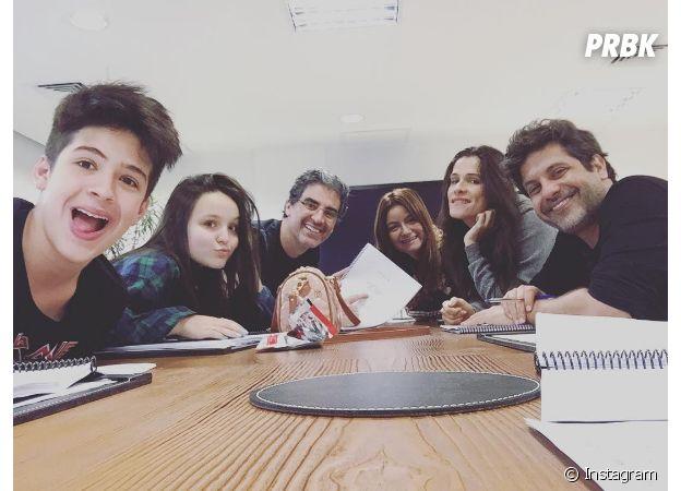 """Além de Jão Guilherme Ávila, nomes como Larissa Manoela e Ingrid Guimarães estão no elenco do filme """"Fala Sério, Mãe"""""""