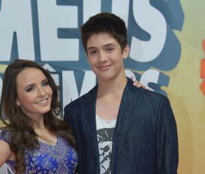 Larissa Manoela e João Guilherme Ávila chegam juntos ao Meus Prêmios Nick 2016