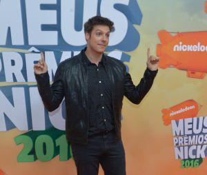 Fábio Porchat foi uma das celebridades presentes no Meus Prêmios Nick 2016
