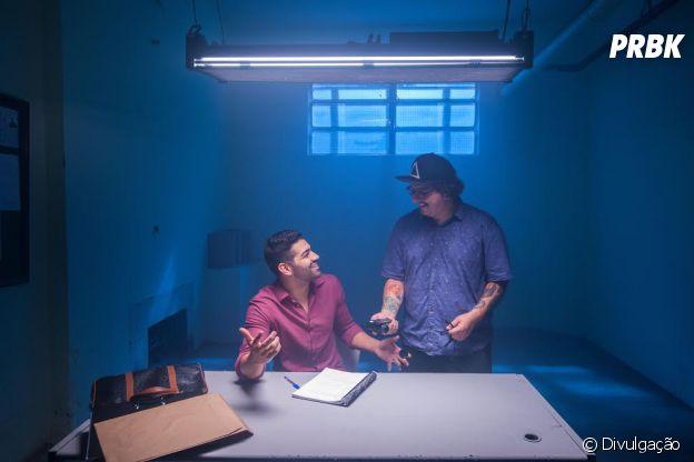 """Dilsinho e o diretor Phill Mendonça já trabalharam juntos no clipe do single """"Trovão"""""""