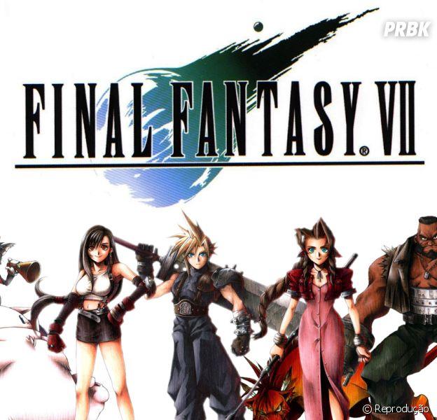 """""""Final Fantasy VII"""" foi o título mais vendido de toda saga"""