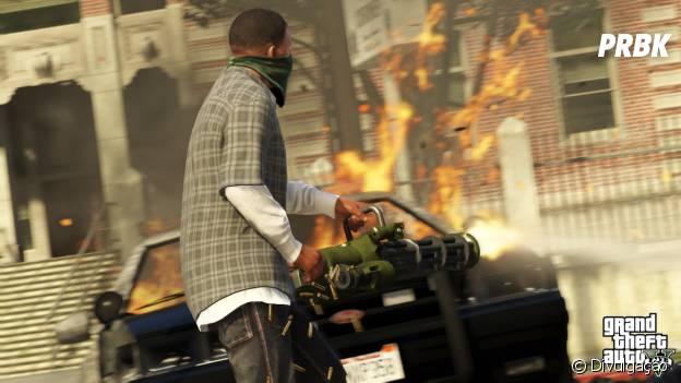 """Quando """"Grand Theft Auto V"""" chegou às lojas, os fãs puderam ter uma experiência totalmente nova em questão de gráfico e jogabilidade melhorada"""