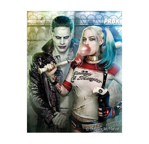 """Coringa (Jared Leto) e Arlequina (Margot Robbie) aparecem em novo teaser de """"Esquadrão Suicida"""""""