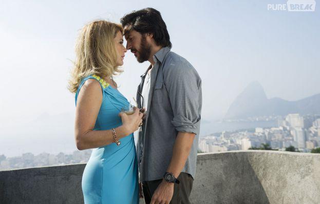 """Herval (Ricardo Tozzi) rouba um beijo de Pamela (Cláudia Abreu), em""""Geração Brasil""""!"""