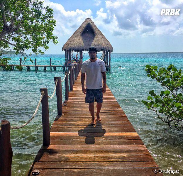 Caio Castro estreia canal no Youtube, onde vai mostrar sua recente viagem de três meses!