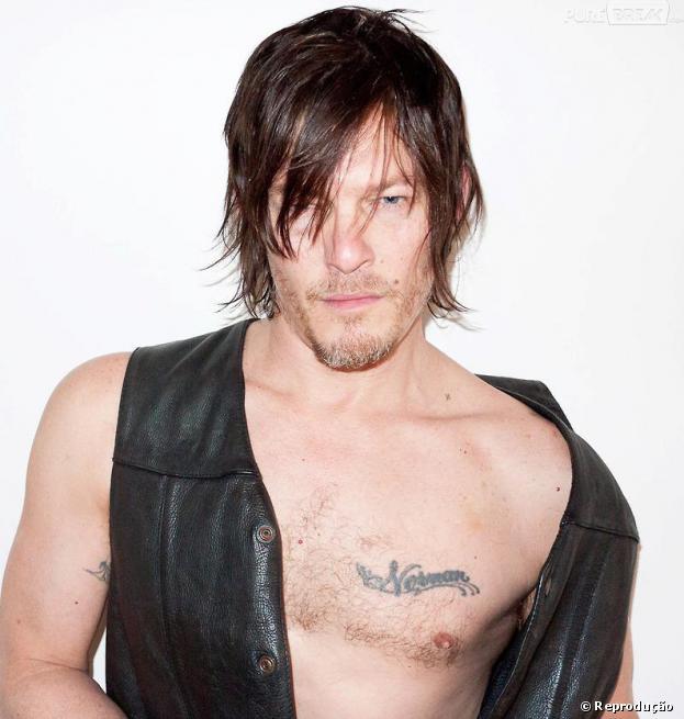 """Daryl (Norman Reedus) vai ser disputado pelas mulheres na nova temporada de """"The Walking Dead"""""""
