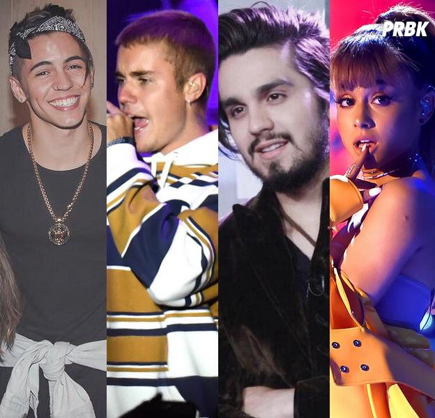 Biel, Justin Bieber, Luan Santana, Ariana Grande e mais músicas pra berrar no karaokê!