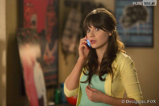 """Até a Jess (Zooey Deschanel) tá preocupada com a situação de """"New Girl""""!"""