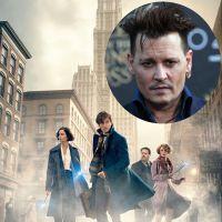 """De """"Animais Fantásticos e Onde Habitam"""": JK Rowling elogia Johhny Depp e diretor do filme o defende!"""