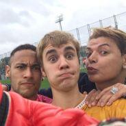 """Justin Bieber e Neymar Jr. posam com David Brazil no Instagram e fãs piram: """"Vivi pra ver isso"""""""